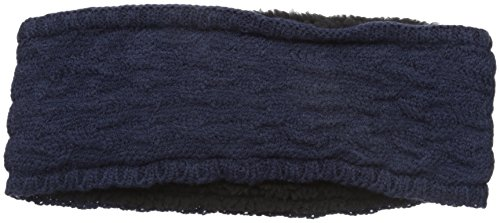 Echo Design Women's Braid Stitch Headband, Navy, One Size