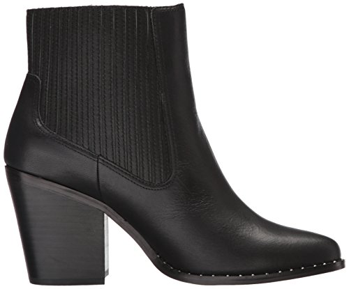 Leather Chinese Laundry Boot Women's Black Sonya wqXZRqx1