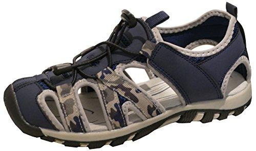 Dark Sandals Men's Fashion Gibra Blue PU4xaYn