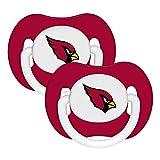 NFL Arizona Cardinals Football Baby Pacifiers - Set of 2