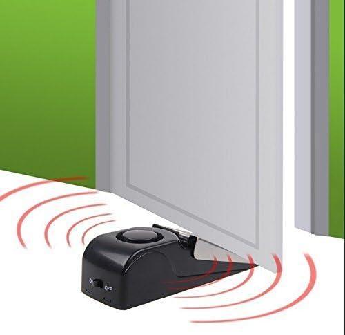 /ideal para viajar alta calidad herramientas de seguridad puerta tap/ón tope para puerta seguridad para el hogar conjunto de 3 3/unidades Upgraded tope para puerta alarma/