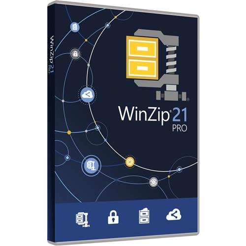 Corel Winzip 21 Pro Software  On Usb Flash Drive