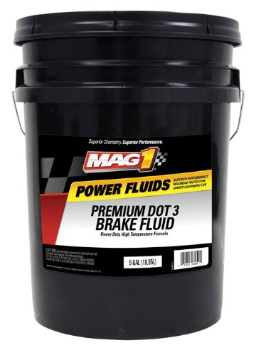 Mag 1 125 DOT 3 Premium Brake Fluid - 5 Gallon by Mag 1