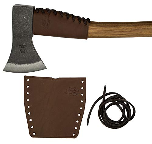 Helko Leather Handle Guard - Axe Collar