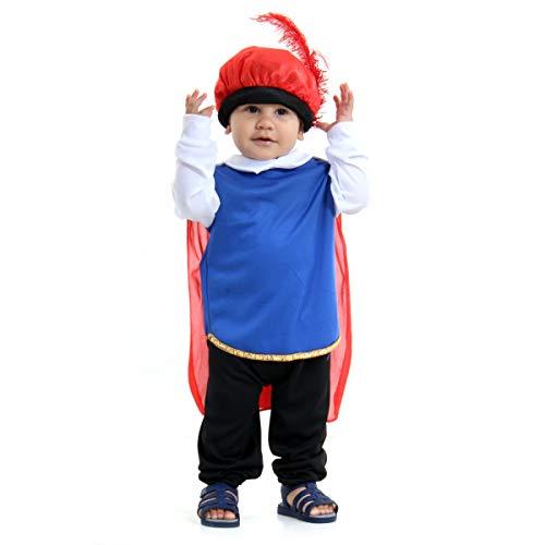 Príncipe Bebê Sulamericana Fantasias 3 Anos