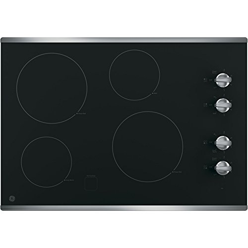 ge-jp3030sjss-30-electric-cooktop-with-4-cooking-elements-in-stainless-steel