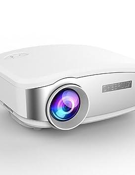 CHEERLUX® C6 HD Mini proyector portátil Conduit para el Home Cine ...