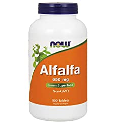 Now Supplements, Alfalfa 650 mg Source o...