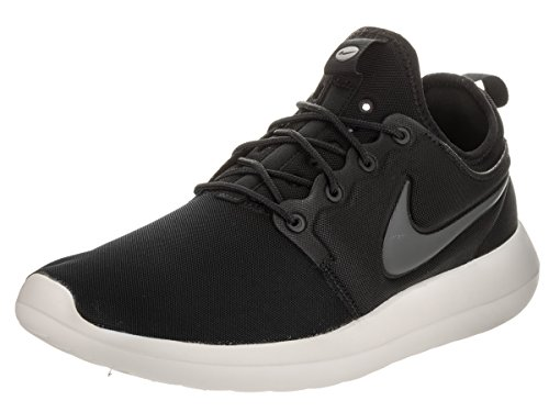 Nike Men's Roshe Two 2 Lifestyle Running Sneakers Black/Sail/Volt/Anthracite (11)