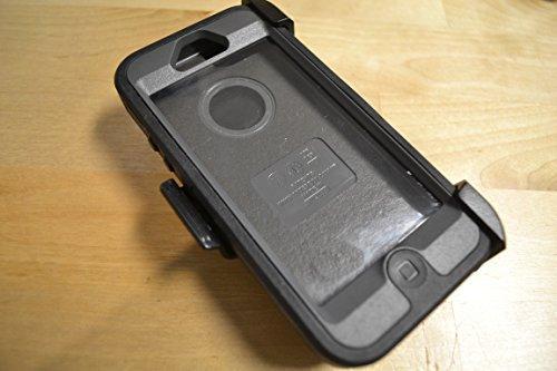 OtterBox Defender Series Case for iPhone 5/5s/SE - Retail Packaging - Black (Renewed)