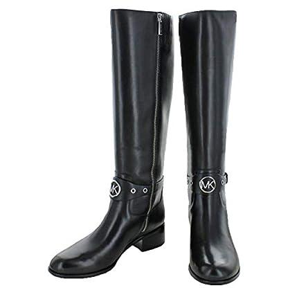 Michael Michael Kors Womens Heather Leather Almond Toe Knee High Fashion Boots 2
