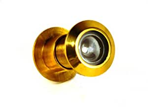 extra large brass door viewer peephole wide 180 degree