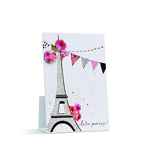 Demdaco 1004150037 Love Paris Magnetic Memo Board (Paris Memo Board)