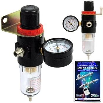 Pointzero Airbrush Air Compressor Regulator With Water