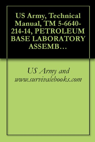 us-army-technical-manual-tm-5-6640-214-14-petroleum-base-laboratory-assembly-nsn-6640-00-303-4940