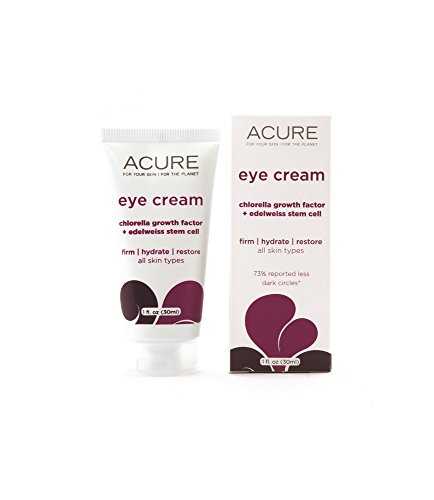 ACURE Eye Cream Chlorella Edelweiss Stem Cell Acure Organics 1.0 oz Cream