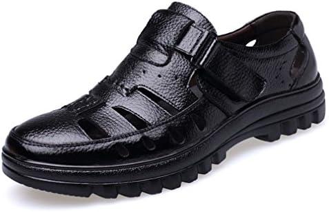ウェウィン カジュアルシューズ メンズ 紳士靴 3E 3.5cmUP 本革 牛革 サンダル オフィスサンダル スリッポン ベルクロ ウォーキング 防水 防臭 耐久 滑り止め付 通気性抜群 ビジネスシューズ Uモカタイプ