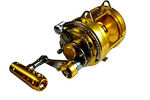 GOMEXUS Trolling Reel Saltwater 30W 2 Speed 70lbs For Big Game Fishing Tuna Tournament Excellent Smooth And Powerful - 2 Speed Reel