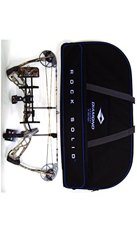 Diamond Edge SB-1 Compound Bow, Breakup Country Camo, RAK Package, Left Hand, 7-70lbs, with Diamond Soft Bow Case For Sale