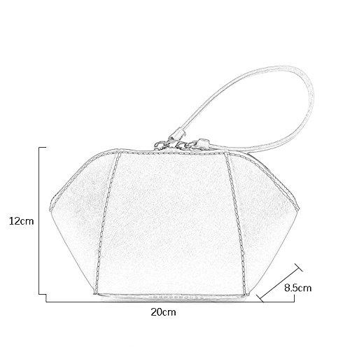 GMS467 Neue Frauen Taschen Vintage Kleine Shell Leder Handtasche Casual Bag, Mehrzweck Handtasche, 3 Farben, 20 Cm * 12 Cm ( Farbe : Braun ) Orange