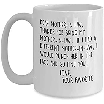 Amazon.com: Mother In Law Gift From Daughter In Law