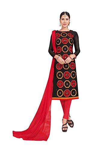 Fashions Trendz Indian Women Designer Partywear Ethnic Traditonal Black Salwar Kameez by Fashions Trendz