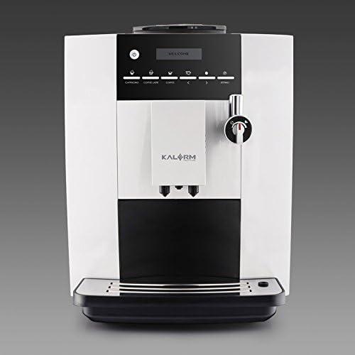 Kalerm Klm1604-Cafetera automática de grano: Amazon.es: Hogar