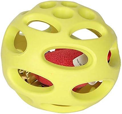 Juguete para Gato Zerone, Campana con Sonido de Goma Amarilla para ...