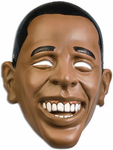 Obama Face Mask (Forum Novelties 64024 Plastic Obama)