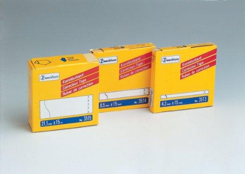Avery Zweckform 3515 Korrekturbänder, 21,1 x 15.000 mm, weiß