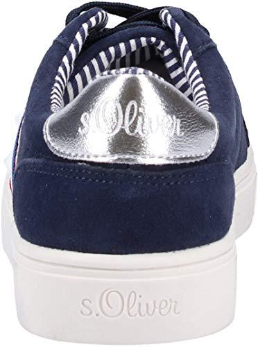 Donna oliver 23602 Scarpe Blau Da S Basse Ginnastica 5 22 navy 7qBSnxFw