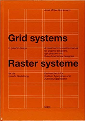 Grid Systems In Graphic Design A Visual Communication Manual For Graphic Designers Typographers And Three Dimensional Designers Niggli Editions German And English Edition Muller Brockmann Josef 8601200930016 Amazon Com Books