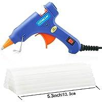 ccbetter Upgraded Mini Hot Melt Glue Gun with 30pcs Glue...