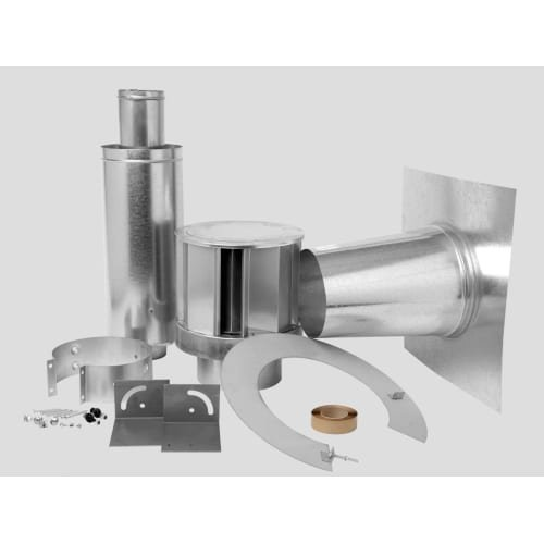 Direct Vent Fireplace Roof Terminals Type: Roof Terminal Kit for Flat Roofs