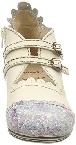 Rovers Damen Stiefeletten Weiß (Weiß)