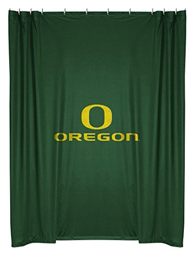 Amazon.com : Oregon Ducks COMBO Shower Curtain & Valance Set ...