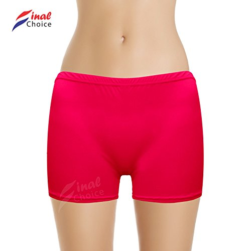 Danza Rosa Pants gonna Hot intima Neon corta di elasticizzati Pantaloni biancheria Vogueland Bw4ZPXExqB