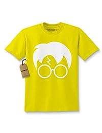 Expression Tees Harry Glasses Lightning Bolt Hair Kids T-shirt