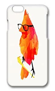 Apple Iphone 6 Case,WENJORS Adorable Punk bird Hard Case Protective Shell Cell Phone Cover For Apple Iphone 6 (4.7 Inch) - PC 3D by icecream design