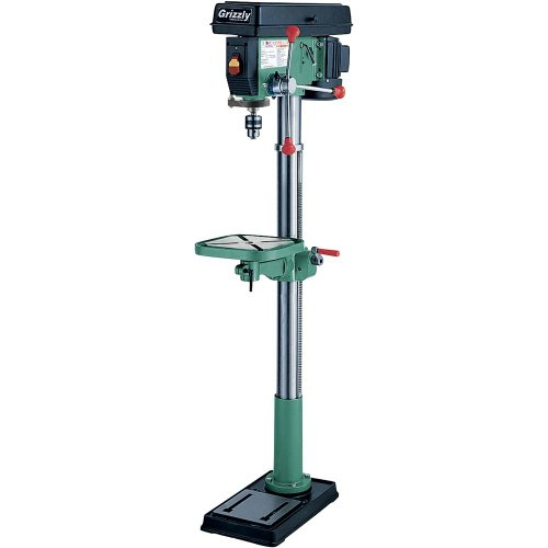 Grizzly G7944 12 Speed Heavy-Duty Floor Drill Press, 14-Inch by Grizzly