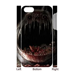 Iphone 4,4S Terrorist 3D Art Print Design Phone Back Case DIY Hard Shell Protection FG047722