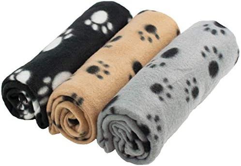 54ed68419b59 DIGIFLEX Grandes Mantas de Suave Felpa - Para Perros, Gatos, Conejos y  Otras Mascotas - Una Buena Adición ...