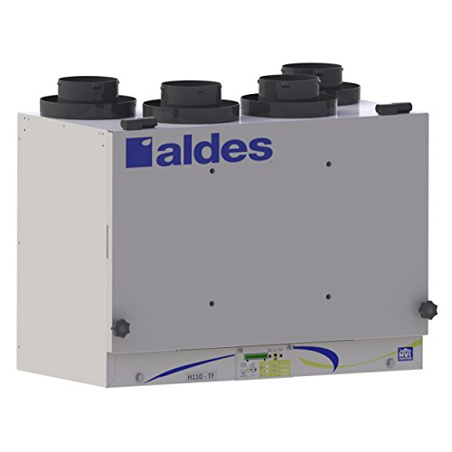 Aldes E110-TF - Residential Energy Recovery Ventilator (ERV) - Air ()
