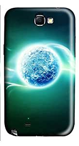 Samsung Note 2 Case The Psychedelic Of 3D Earth 3D Custom Samsung Note 2 Case Cover
