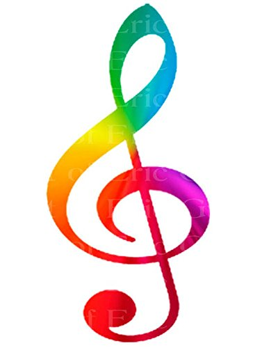 3-Round-Band-Music-Rainbow-Note-Birthday-Edible-CakeCupcake-Party-Topper