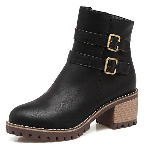 Boots Mode Motards Low Femme Aisun axYfwHq