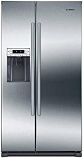 Bosch B20CS30SNS 300 Series 36 Inch Built In Counter Depth Side By Side  Refrigerator, In
