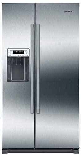 Bosch B20CS30SNS 300 Series 36 Inch Built In Counter Depth Side by Side Refrigerator, in Stainless Steel