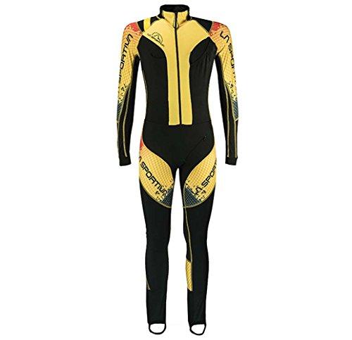 La Sportiva A11 Men's Syborg Racing Suit, Blackyellow - XS