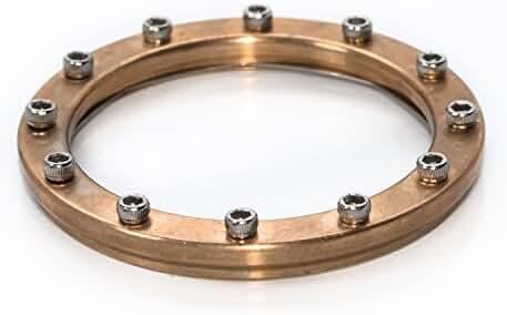 Bezel for Watches Vostok Amphibian, Komandirskie - Bathyscaph (Porthole) Bronze31